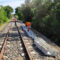 Station and railway line safety systems in Sardinia